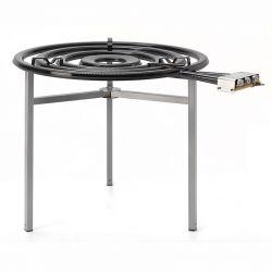 Réchaud VLC gaz de ville avec thermocouple et veilleuse - Diamètre 900mm TT-900