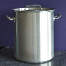 Marmite inox 80 litres - Triple fond