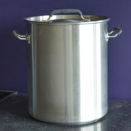 Marmite inox 40 litres - Triple fond