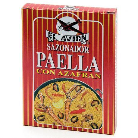 Epices pour Paella avec safran (3 sachets)