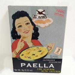 Epices naturelles pour Paella avec safran (3 sachets)