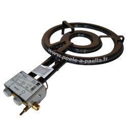 Réchaud VLC paella propane avec thermocouple et veilleuse - Diamètre 460mm