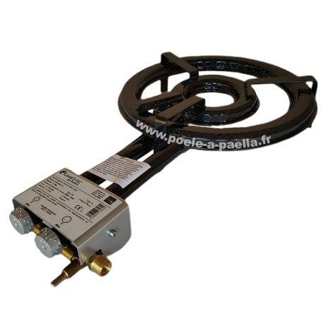 Réchaud VLC paella propane avec thermocouple et veilleuse - Diamètre 380mm