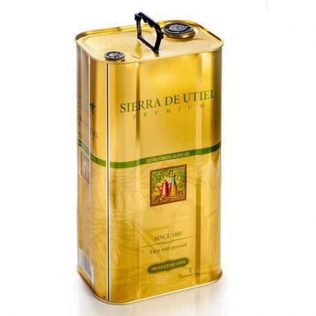 Huile d'olive extra vierge Sierra de Utiel - 5 litres