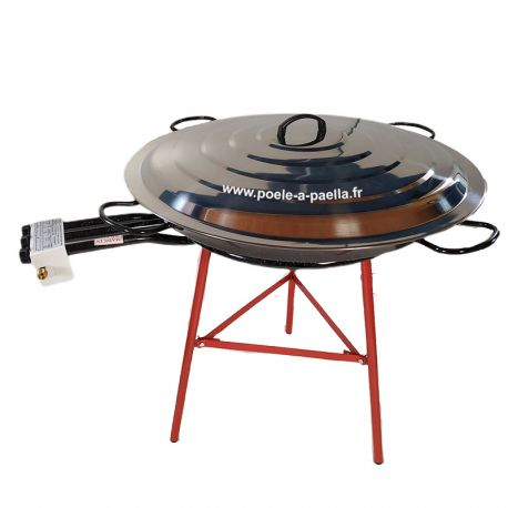 Kit à paella acier pour 50 personnes
