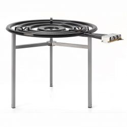 Réchaud VLC paella propane avec thermocouple et veilleuse - Diamètre 900mm TT-900