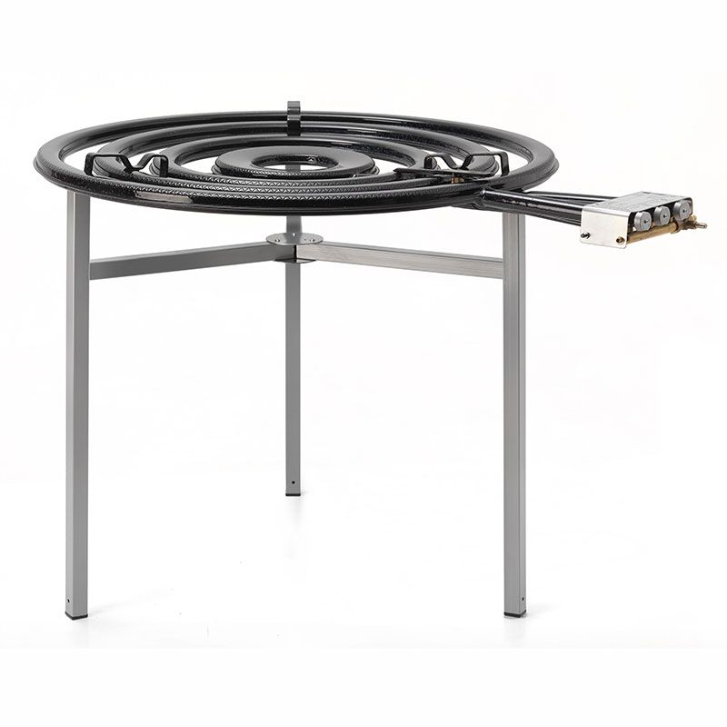 R chaud propane professionnel avec veilleuse 900mm 42kw tt900 - Bruleur a gaz pour paella ...