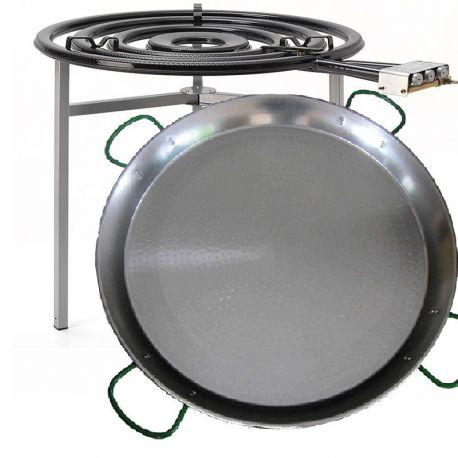 Kit à paella pro pour 120 personnes