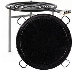 Kit à paella pro pour 120 personnes - Luxe - thermocouple
