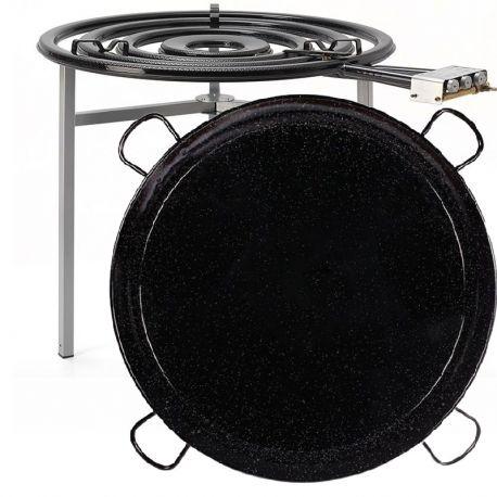 Kit à paella pro pour 120 personnes - Luxe