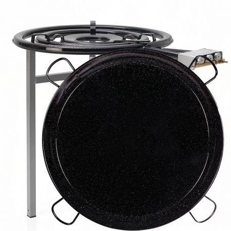 Kit à paella professionnel pour 40 personnes - Luxe - thermocouple
