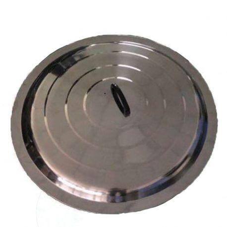 Couvercle inox 80cm pour poêles à paella