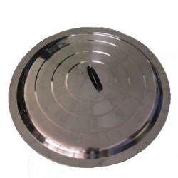 Couvercle inox 60cm pour poêles à paella